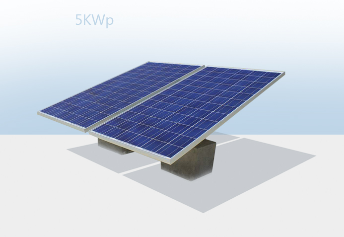 Solar Power plant On Grid 5KWp - Digiflics